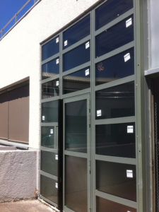 Façade vitrée aluminium