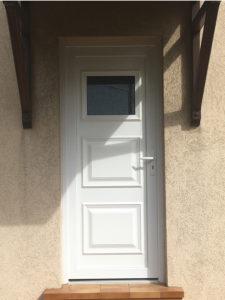 Porte extérieur PVC