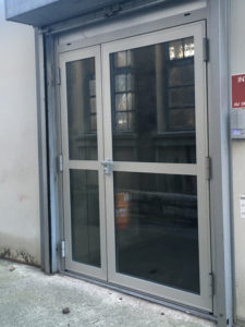 Porte aluminium extérieur
