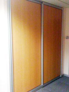 Porte placard bois